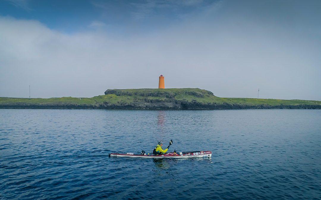 Paddling Around Iceland in a Kayak